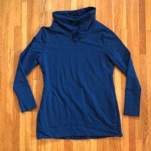 Merona teal sweatshirt size large